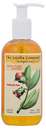 Hobacare – 100% Pure Jojoba Oil for Skin, Scalp and Hair – 8.45oz (packaging may vary)