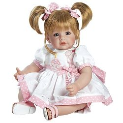 Adora Toddler Happy Birthday Baby 20″ Girl Weighted Doll Gift Set for Children 6+ Huggable ...