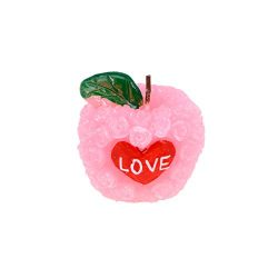 BESTOYARD Fragrant Apple-Shaped Candle Carved Christmas Paraffin Wax Candle Scented and Organic  ...