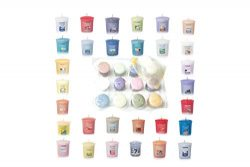 Yankee Candle Spring and Summer Votive Samplers Assortment of 12 in Storage Container Gift Box w ...