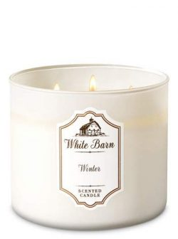 Bath & Body Works 3 Wick Candle Winter