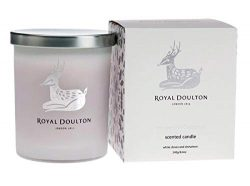 Royal Doulton The Scent of Christmas Soy Natural Candle. 40 Hour Burn. White Clove & Cinnamo ...