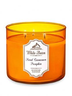 White Barn 3-Wick Scented Candle in Sweet Cinnamon Pumpkin