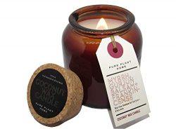 Aromatherapy Apothecary Jars Candle Myrrh, Gurjun Balsam + Frankincense, Healing Spiritual Organ ...