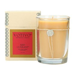 Votivo Red Currant Glass Candle, 1 Each