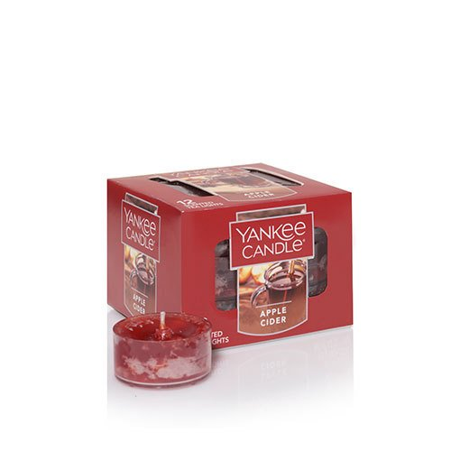 Yankee Candle Apple Cider Tea Light Candles, Food & Spice Scent