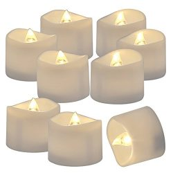 Homemory 72 Pack Flameless Flickering LED Tealight Candles Battery Operated Votive Tealight Elec ...