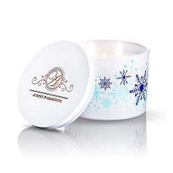 Aubert & Amandine COMFORT Limited Edition Aromatherapy Scented Soy Candle w 3 Wick Stress Re ...