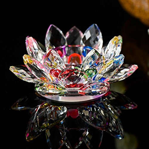 Lotus Crystal Lotus Flower Tea Light Candle Holder, Decor Collection,Valentine's Day Decor ...