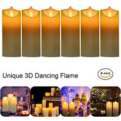 Glückluz Ideal Gift Mothers' Day Home Decoration Flameless Vivid LED Votive Candles Flicke ...