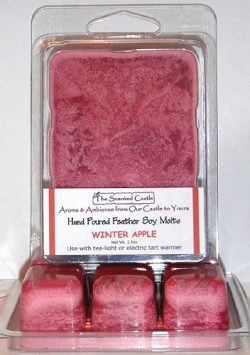 2 Pack Scented Soy Wax Melts – Winter Apple by The Scented Castle
