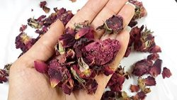 Luna Retail Corp Herbs Handpicked Organic Aromatic Dried Rose Buds and Petals, Rich Fragrance, B ...