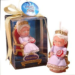 MEOLY The Aged Birthday Candles Charming Gifts Smokeless Candles Wedding/Party Favor(Grandma)