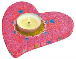 "Eduplay ""Tealight Holder Heart Set of 3"" Spring & Mother's Day"