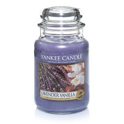 Yankee Candle Large Jar Candle, Lavender Vanilla