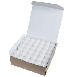 Scent Works Premium Unscented White Votives, 10 hr burn time, 72-ct.
