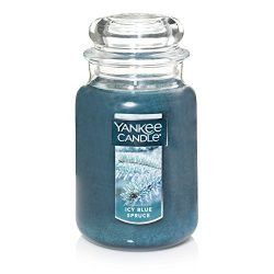 Yankee Candle Company Large Jar Scented Candle, ICY Blue
