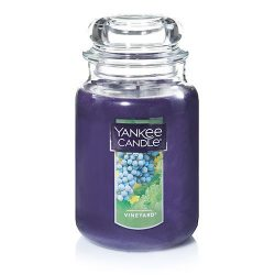 Yankee Candle Large Jar Candle, Vineyard