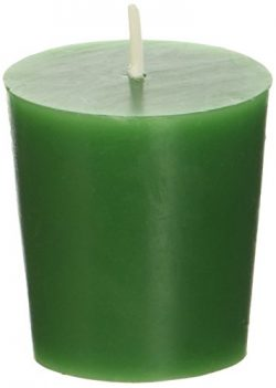 Zest Candle 12-Piece Votive Candles, Hunter Green