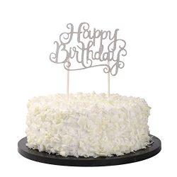 Sunshine ZX happy birthday cake cake crush candles alternative party manual silver flash