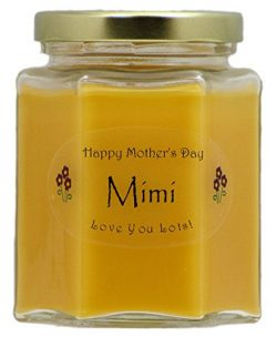 Just Makes Scents Mimi Mothers Day Candle – Mango Papaya Scented Mothers Day Gift Candle & ...