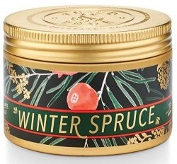 Tried and True Winter Spruce Soy Candle Tin – Cedar, Amber and Vanilla Scented