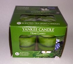 Yankee Candle Home Classics Happy Spring Tea :LIghts