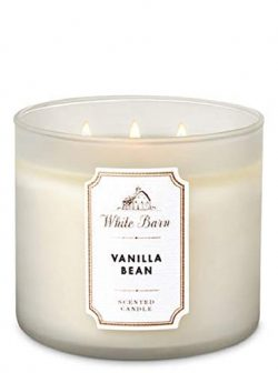 Bath & Body Works White Barn 3-Wick Candle in Vanilla Bean