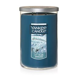 Yankee Candle Large 2-Wick Tumbler Scented Candle, ICY Blue