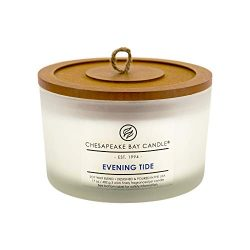 Chesapeake Bay Candle 3-Wick Scented Candle, Evening Tide (Lavender Sea Salt), Coffee Table Jar