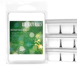 Lee Naturals Spring & Summer – (2 Pack) HONEYSUCKLE Premium All Natural 6-Piece Soy Wa ...
