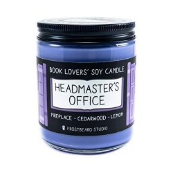 Headmaster's Office – Book Lovers' Soy Candle – 8oz Jar