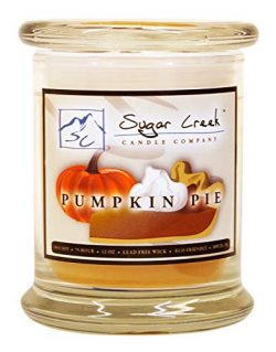 Sugar Creek | Pumpkin Pie Soy Scented Candle – Fall Candles Collection | 100% Natural &#82 ...