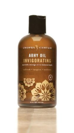 Invigorating Abhy Oil to Balance Kapha with Organic Ingredients 8oz