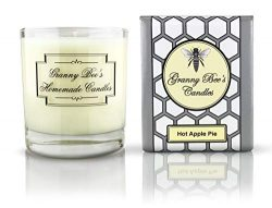 Granny Bee's Candles – Hot Apple Pie, 11 oz – Premium Scented Candle Hand Pour ...