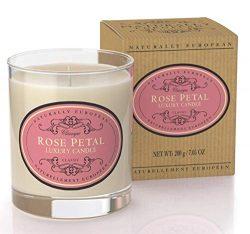 Naturally European – Candle – Rose Petal