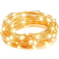 LED String Lights, Copper Wire Starry String Light, Soothing Decoration for Your Home & Bedr ...