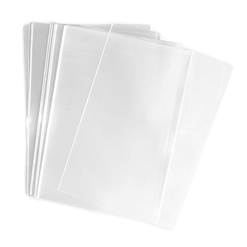 200pcs Clear Flat Cello/Cellophane Treat Bag 8x10inch(2.8mil) Gift Basket Supplies,good for Bake ...