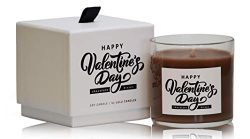 Chocolate Kisses | Happy Valentines Day | Luxury Scented Soy Jar Candles | Hand Poured in The US ...
