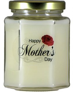 Just Makes Scents Happy Mother's Day Gardenia Candle | Gardenia Scented Soy Wax Candle | H ...
