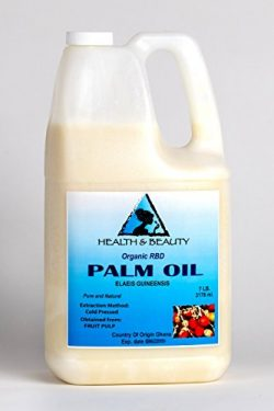 Palm Oil RBD Organic Refined Bleached Deodorized Cold Pressed by H&B OILS CENTER Premium Nat ...