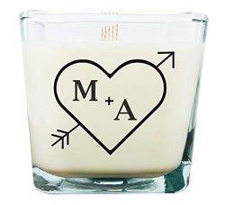 Gathering Home Designs Personalized Gift Candle | Wedding Gift for The Couple | Valentine' ...
