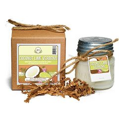 Aira Soy Candles – Organic, Kosher, Vegan, in Mason Jar w/ Therapeutic Grade Essential Oil ...