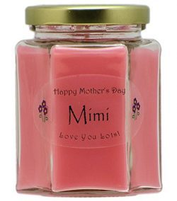 Just Makes Scents Mimi Mothers Day Candle – Fresh Cut Roses Scented Mothers Day Gift Candl ...