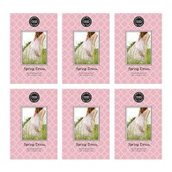 Bridgewater Scented Sachet – Spring Dress, 6-Pack