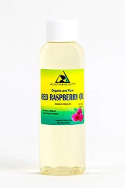 Red Raspberry Seed Oil Refined Organic Cold Pressed by H&B Oils Center Natural Fresh 100% Pu ...