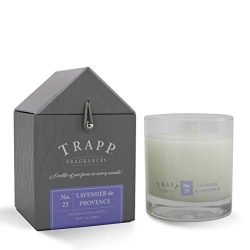 Trapp Signature Home Collection No. 25 Lavender De Provence Poured Scented Candle, 7-Ounce