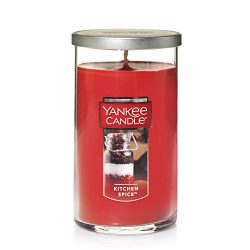 Yankee Candle Medium Perfect Pillar Candle , Kitchen Spice
