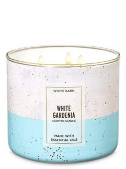 Bath & Body Works 3 Wick Candle White Gardenia