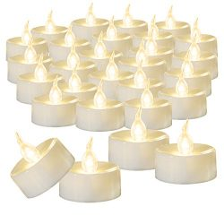 Beichi 100 Pack Flameless LED Tea Light Candles, Battery Operated Votive Tealight Little Candles ...